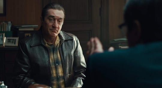 """Robert De Niro and Ray Romano in """"The Irishman."""""""