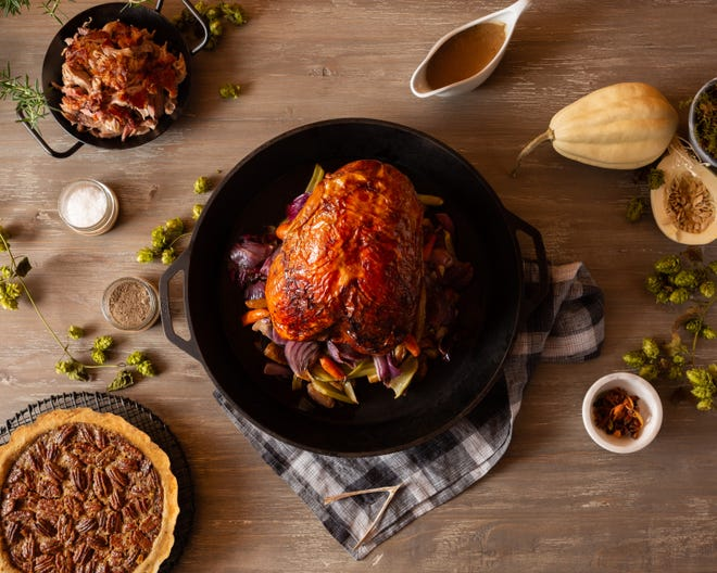 Whichever option you choose, a beautifully presented turkey is the star of the Thanksgiving feast.
