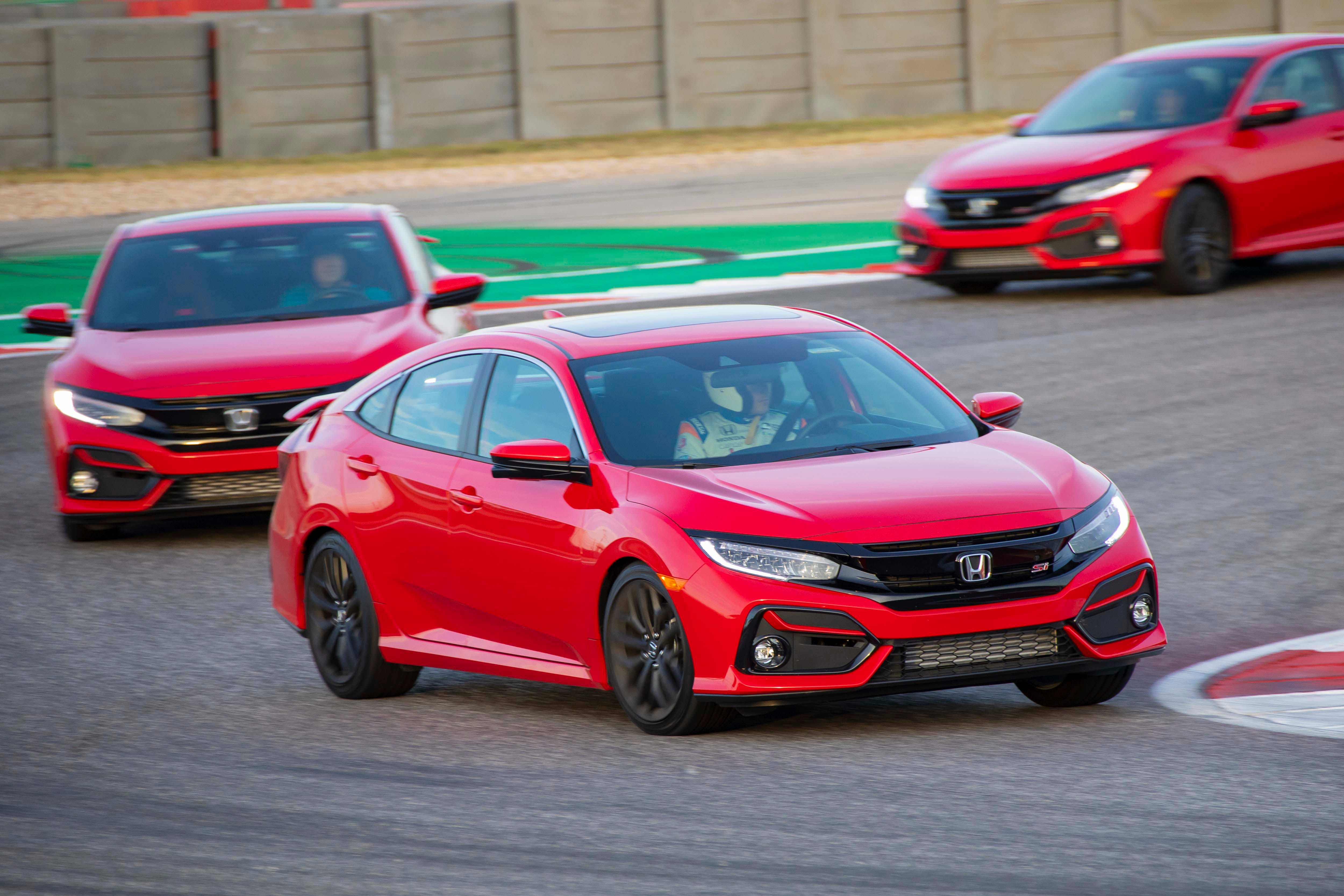Review 2020 Honda Civic Si Just Wants To Have Fun