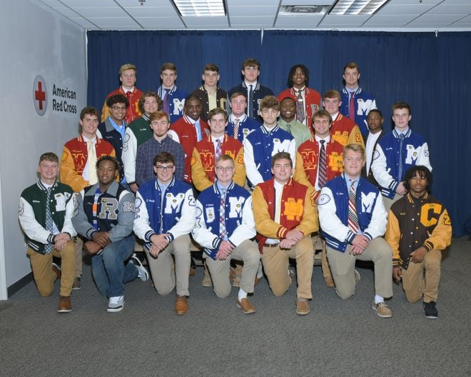 The Downtown Quarterback Club revealed its All-City Team at a luncheon on Monday.