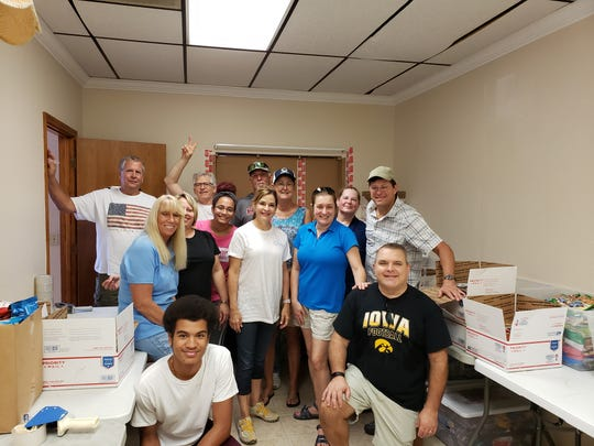 For Jonette Kessack's team of volunteers, the drive for donations of supplies and postage money begins each September. By the end of November, the boxes begin their journey to faraway, homesick men and women in uniform.