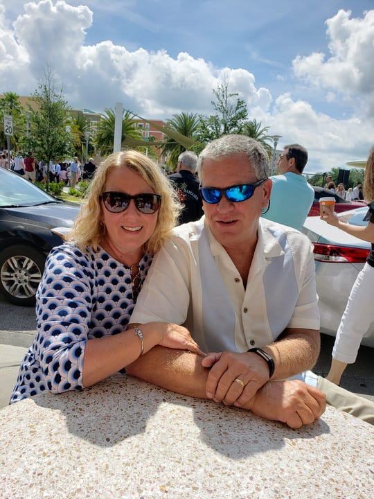 Cape Coral businesswoman Jonette Kessack, pictured with her husband Peter, is the founder of  the a military-support organization Holiday 4 Heroes.