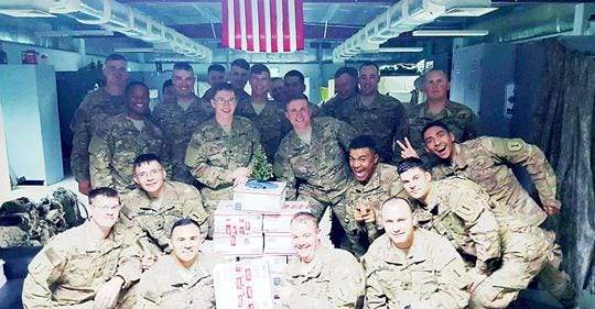 In 12 years, Holiday 4 Heroes has shipped 10,000 boxes to troops deployed to combat zones overseas, namely Iraq, Afghanistan and Syria.