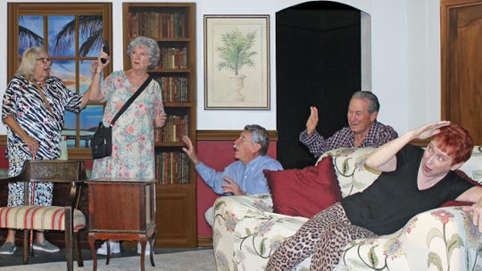 "The Charlotte Players perform ""Jack of Diamonds"" from Nov. 7-17."