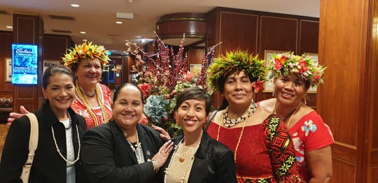 Local lawmakers attended the United Nations' second Pacific Women in Power Forum last week.