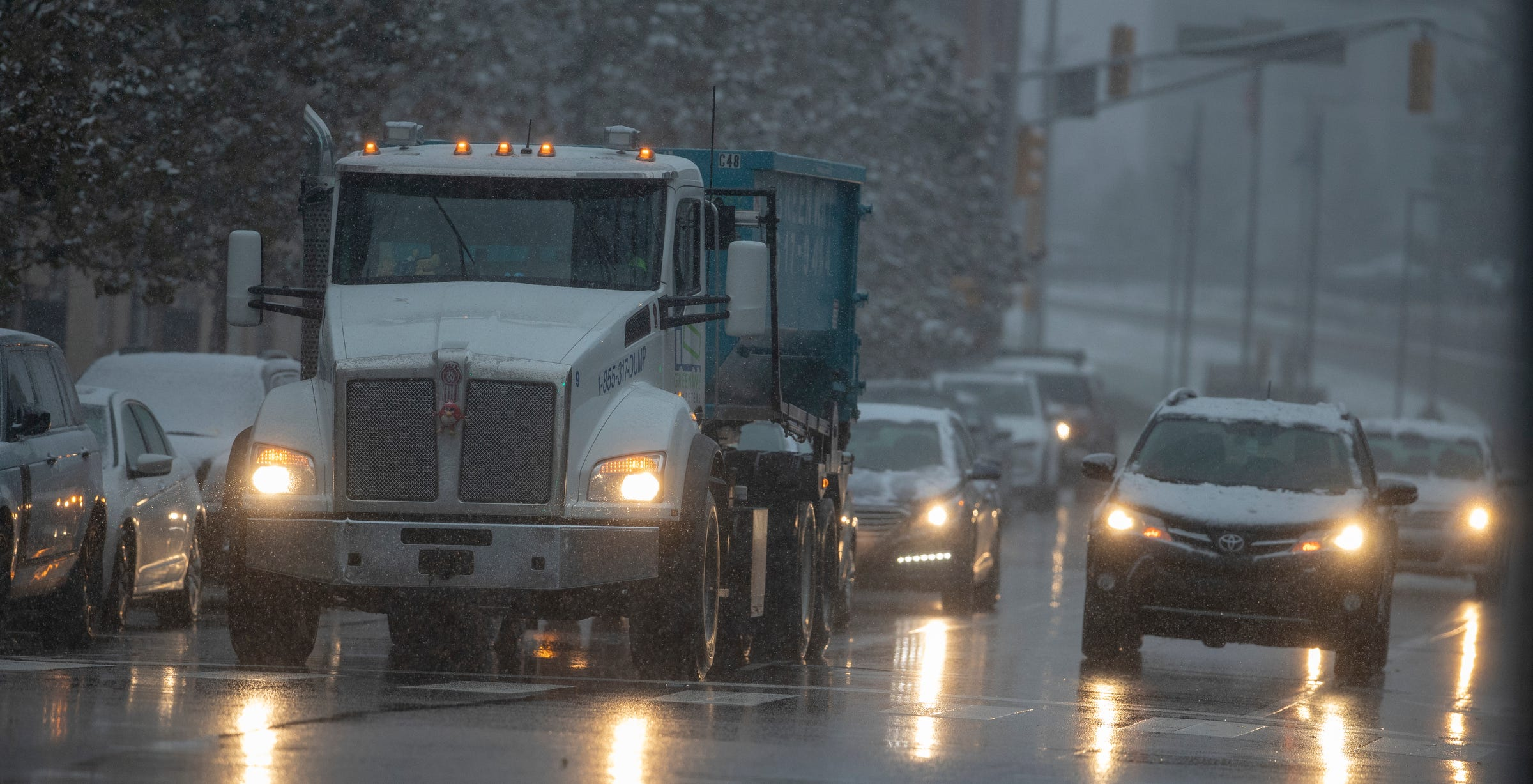 Indianapolis weather: Snow and freezing rain followed by slight warm-up in forecast
