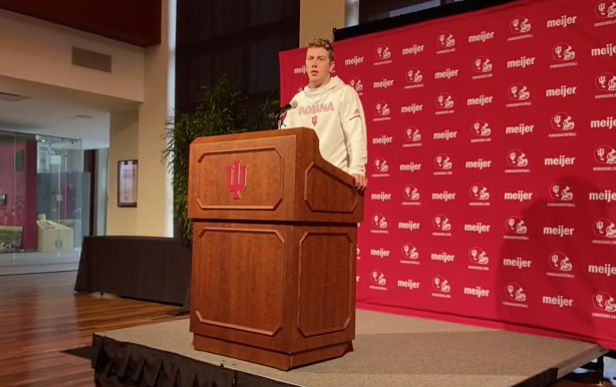Peyton Ramsey on Tom Allen's message to first ranked IU team in 25 years