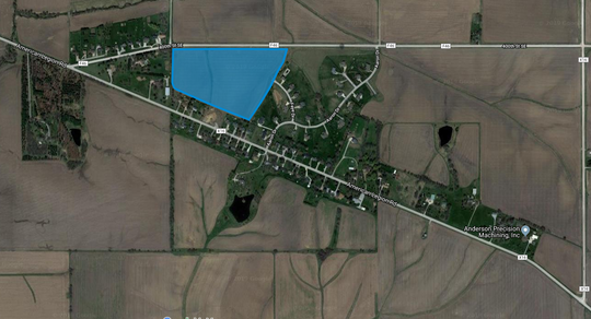 On Tuesday, the Johnson County Planning and Zoning Commission will consider a request to rezone 25.32 acres from agricultural to residential. Claude and Mary Greiner's parcel is southeast of Iowa City down American Legion Road SE. They intend to subdivide the land into approximately 23 single-family residential lots and two outlots for storm water management and open space.