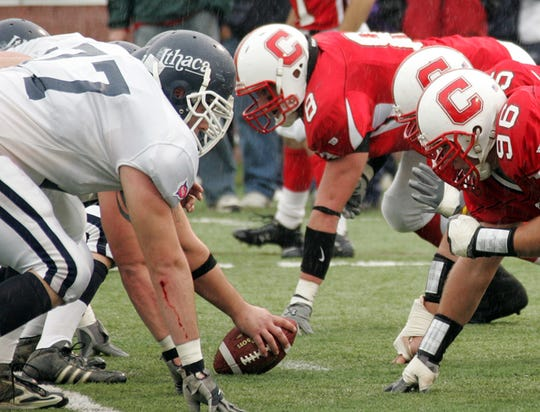 The 2006 Cortaca Jug game, which Cortland won in overtime, 23-20.