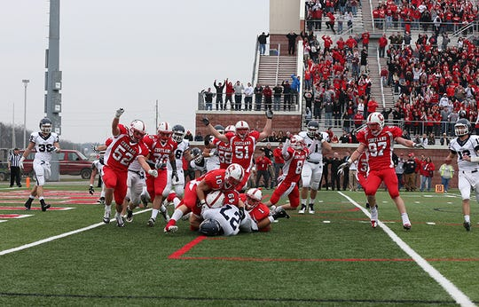 Cortland defeated Ithaca, 16-10, in the 2012 Cortaca Jug game.