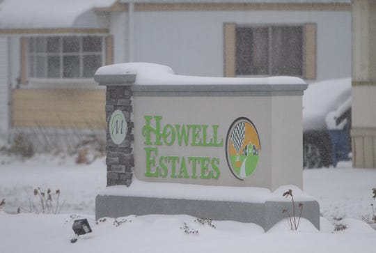 Police are investigating the deaths of two people found Nov. 6, 2019 in a home at the Howell Estates mobile home community.