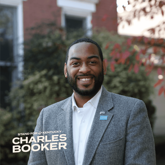 Charles Booker.