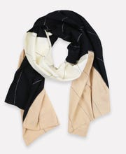 Eclipse Straight Scarf - Neutral from Anchal