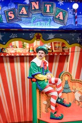 "Bear Brummel in the 2018 product of ""The Santaland Diaries"" at Actors Theatre of Louisville."