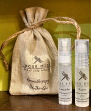 Moss Hill's aromatherapy on the go