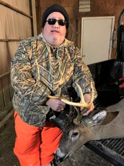 This reporter, Bob Schuh, was successful on a deer hunt with my crossbow on Wednesday, Nov. 6, after a morning snowfall had the deer on the move. The buck had eight points, plus another sticker that measured 7/8 of an inch. I took the buck on my own property near Kellnersville.