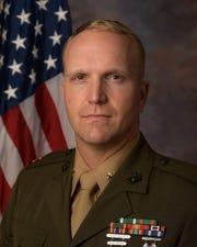 Major Jason Dewald of the U.S. Marine Corps