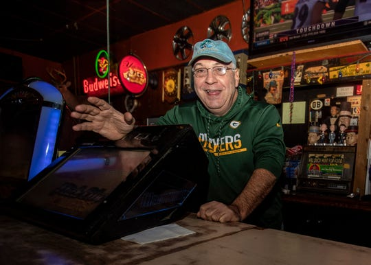 Rocky Kasaftes at Alex's Tavern on Jackson Ave Thursday Nov. 7, 2019.