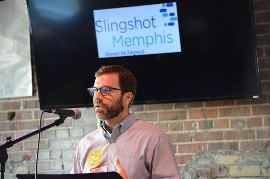 Justin Miller, CEO of Slingshot Memphis