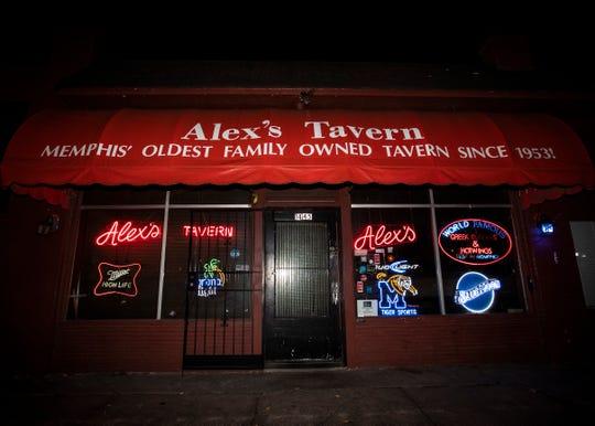 Alex's Tavern on Jackson Ave Thursday Nov. 7, 2019.