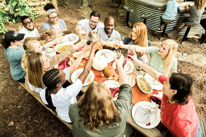Friendsgiving with a Memphis twist! Memsgiving, benefiting the Jay Uiberall Foundation, will be on Nov. 23 at Carolina Watershed.