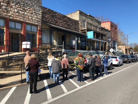 The Arkansas Historic Preservation Division's Walk Through History Tour made its way to Calico Rock on Saturday, Nov. 9.