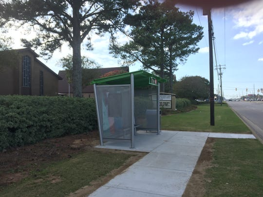 Frazer Church on Atlanta Highway raised funds to place shelters at the two existing bus stops on either side of the church's property. The congregation also has funded an additional shelter near the church's Transformation Montgomery mission site in the Chisholm area. The Chisholm shelter is scheduled for construction soon.