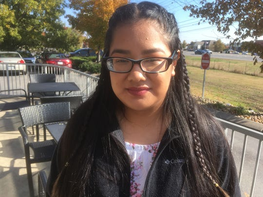Mari Campos of La Vergne was born in Mexico has lived in the U.S. since she was three months old.