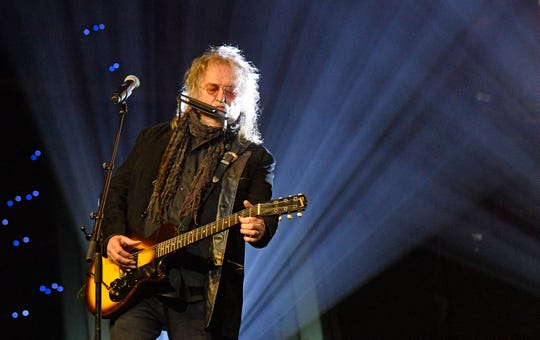 Ray Wylie Hubbard performs at the 2019 SESAC Nashville Music Awards Sunday, Nov. 10, 2019, in Nashville, Tenn.