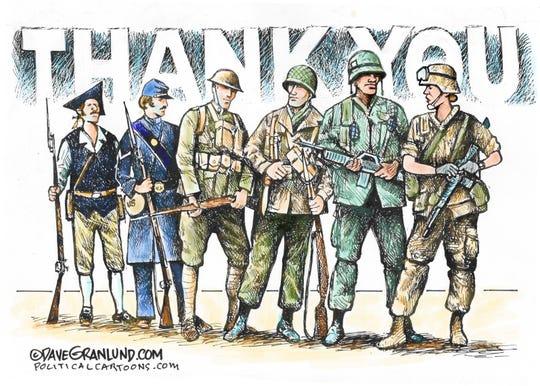 Thanks to veterans