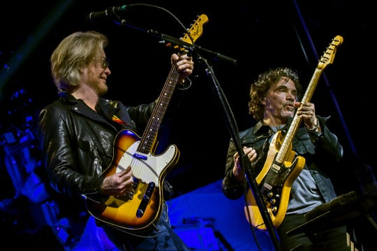 Daryl Hall & John Oates formed one of the most successful rock duos of all time. Oates performs with his band Nov. 20, 2019, in Bonita Springs,  Florida.