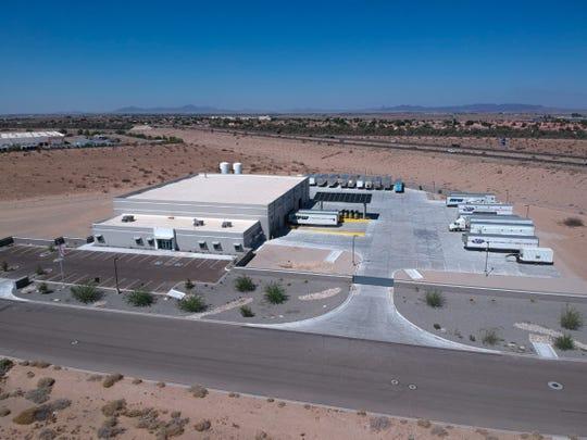 MPW-Porta Kleen joint facility in Yuma, Arizona.