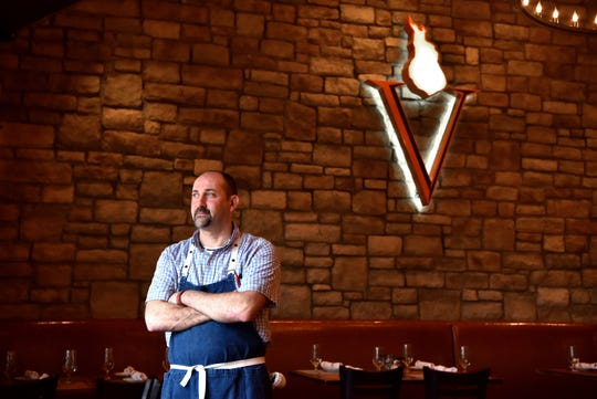 Vesta Wood Fired Pizza & Bar Executive Chef Todd Villani  in East Rutherford.