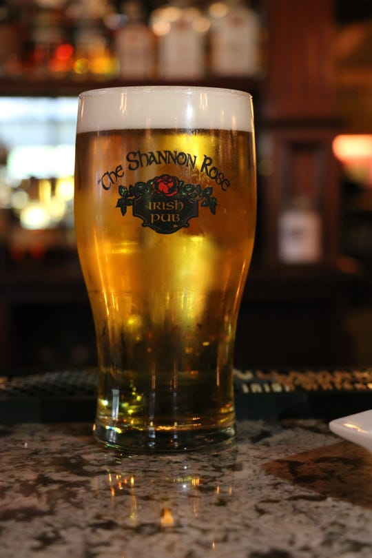 The Shannon Rose's beer selection includes domestic, international and seasonal brews.