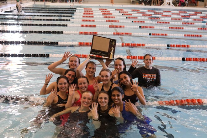 These Northville seniors won the KLAA championship four years in a row.