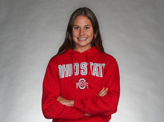Akemi Von Scherr of La Quinta High School has a scholarship to Ohio State University where she will run cross country, November 11, 2019.