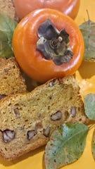 Persimmon bread is a fun, fall treat.
