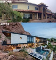 The Spanish colonial home on Camelback Mountain was renovated to take advantage of its amazing views.