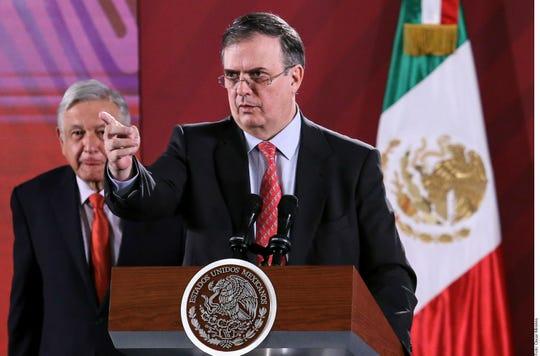 El canciller de México Marcelo Ebrard se pronunció por el caso Evo Morales.