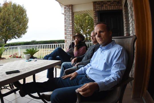 Jared Jones, en su casa de la comunidad LeBarón, el 8 de noviembre de 2019 en el estado de Chihuahua (México).