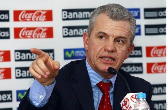 Javier Aguirre, entrenador.