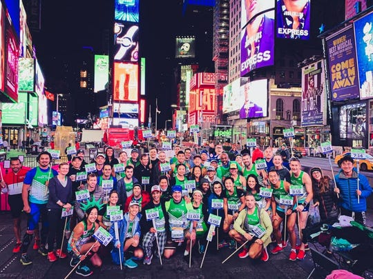 """For NYC Marathon pacer David Walker, the event is """"one of the world's largest running street parties that never disappoints."""""""