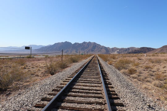 There's a new scenic attraction outside Las Vegas –and it takes visitors on a 4-mile downhill journey along a historic stretch of railroad tracks.