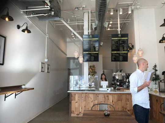 Pangolin Café occupies a bright, airy storefront in Midtown Reno at Martin and South Virginia streets.