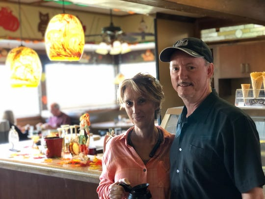 Owners Crystal and Tom Lachaussee at Humble Joe's Chophouse & Grill in Redding.