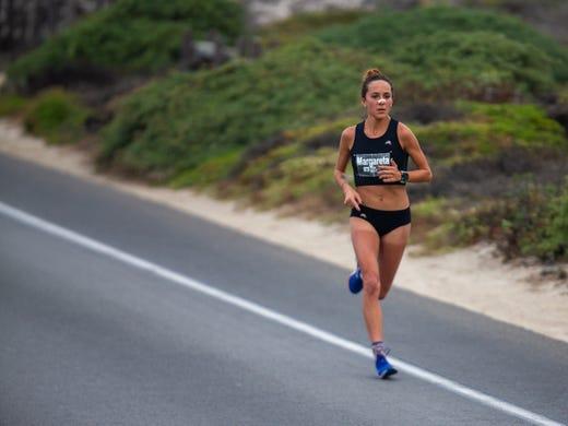 Woman breaks Monterey Bay Half Marathon's course record