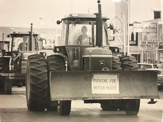 Farmers in San Angelo and across the nation tried to get some attention in the late 1970s, as they faced severe market and policy challenges, which were costing many American's the family farm.