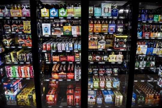 JJ's Wine, Spirts and Cigars keeps a variety of beers in stock on Friday, Nov. 8, 2019 in Sioux Falls.