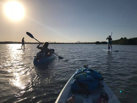 Launch a kayak from Little Jim Bait & Tackle in Fort Pierce and paddle the Indian River Lagoon toward The Cove for a relaxing day on the water.