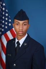 U S Air Force Airman Ennis C Thompson III